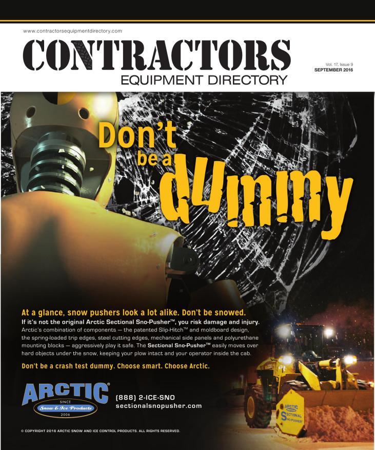 Contractors Equipment Directory | September 2016