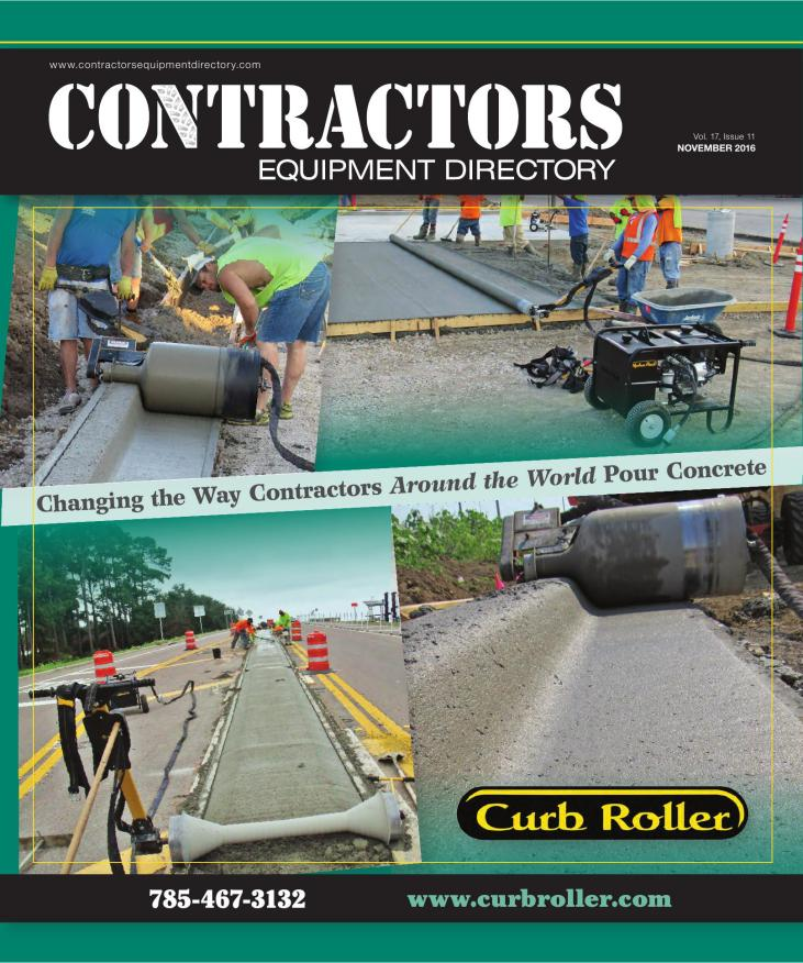 Contractors Equipment Directory | November 2016